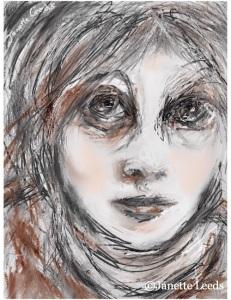 "A woman""s face"