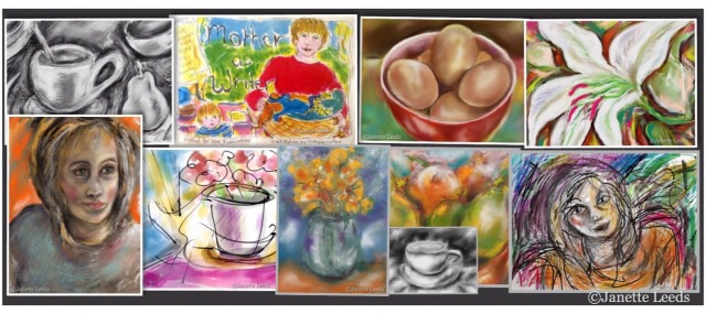 A selection of iPad art
