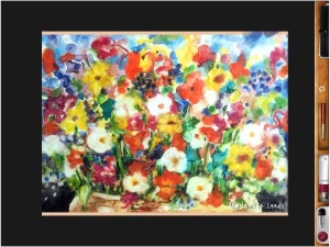 Flower painting 3