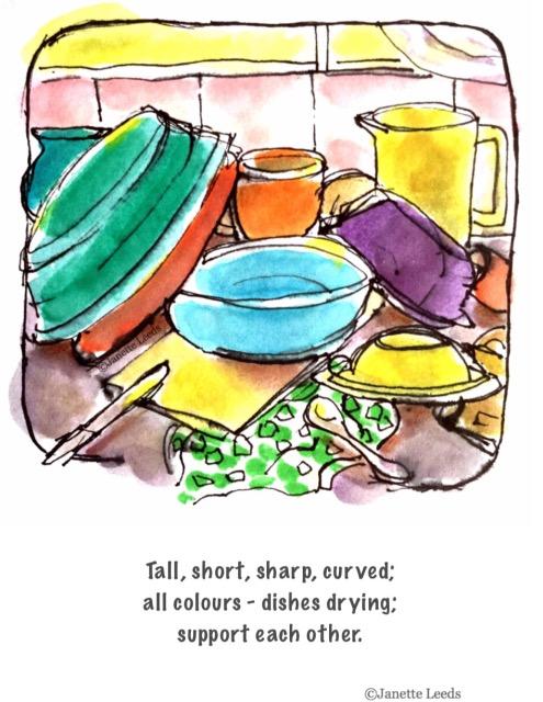 Haiku with illustration