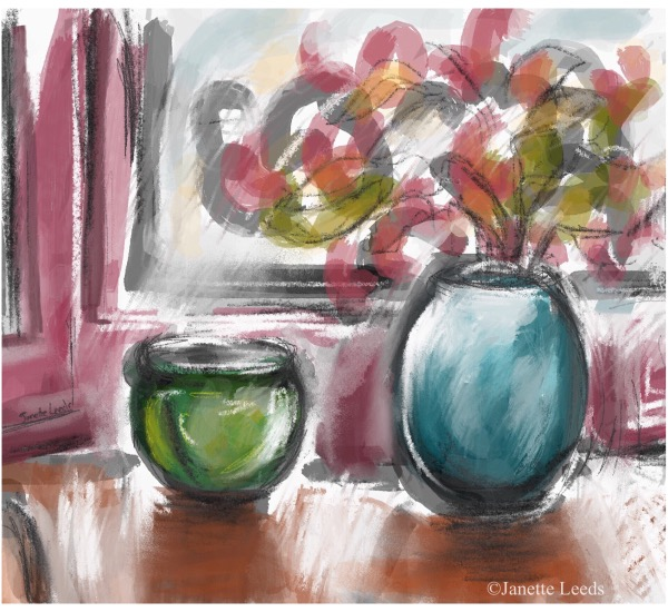 Still life near window