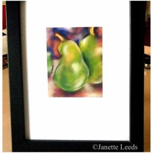 Print of pears