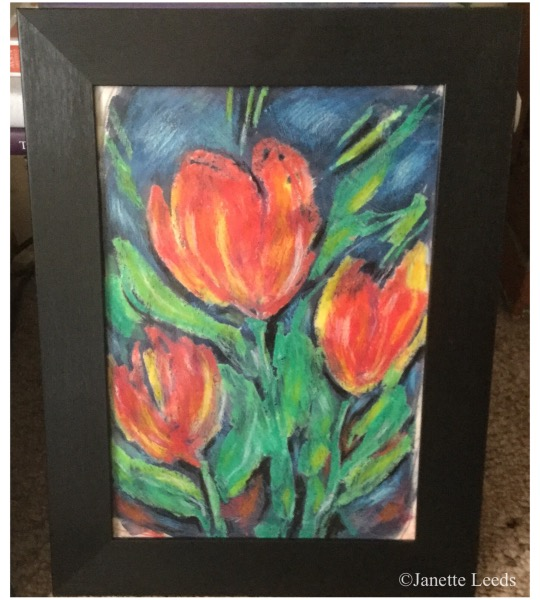 Print of flowers