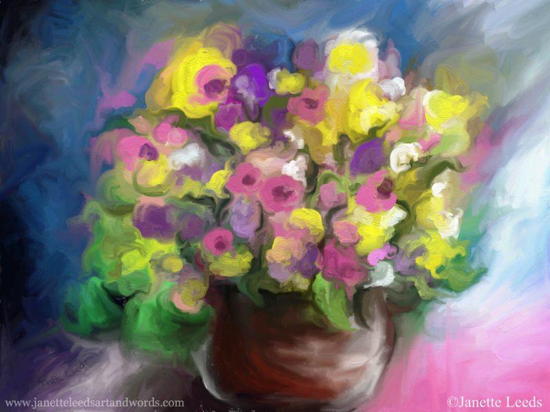 Flowe painting
