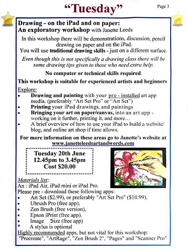 Workshop blurb