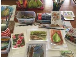 Photo of art supplies