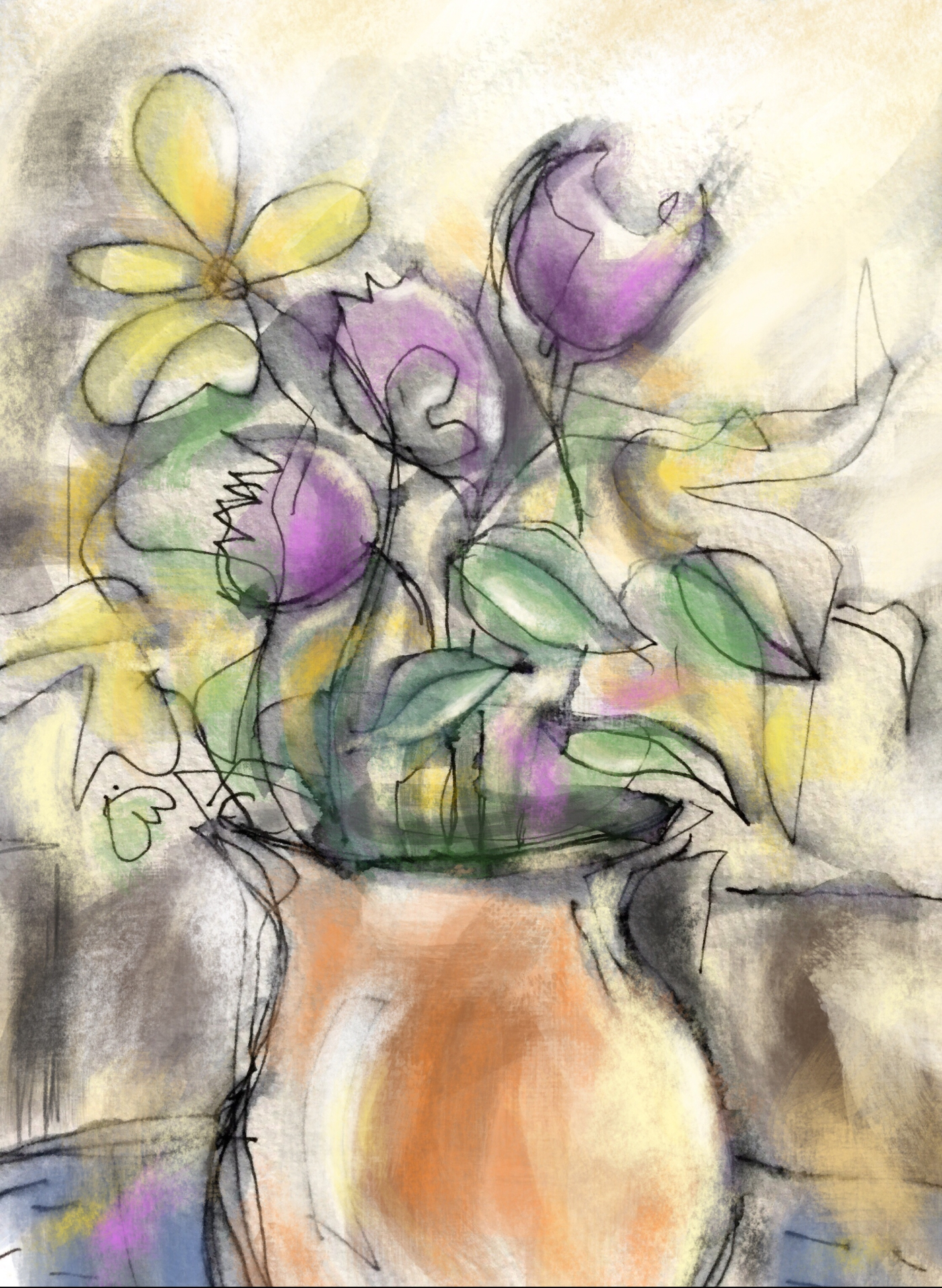 Flowers in Vasw