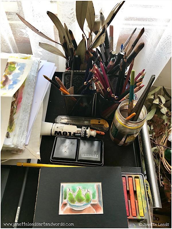 Various art media