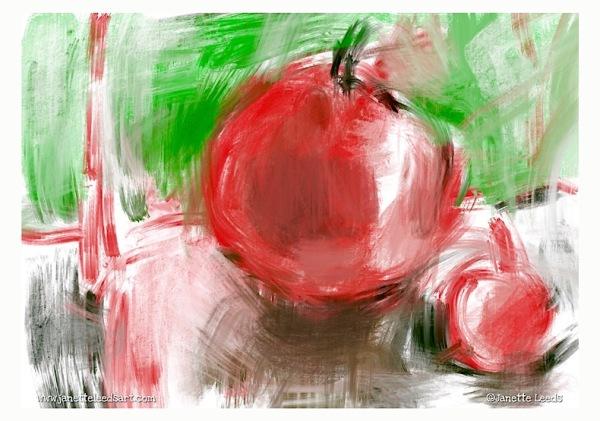 Tomato painting