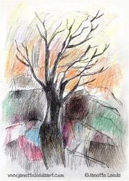 A tree drawing
