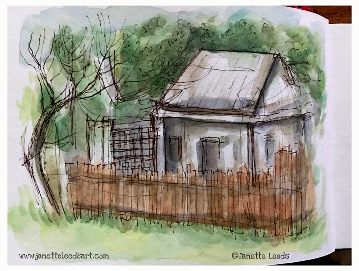 House in Watercolour